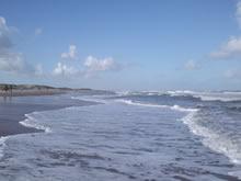 orilla de la playa de aguas dulces
