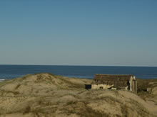 rancho en la playa