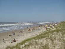 playa de la barra del chuy en temporada alta