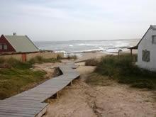 bajada a la playa de cabo polonio