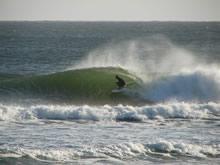 surfista en la paloma