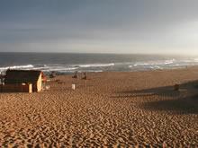 playa de la paloma por la mañana