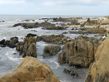 rocas en el mar de la pedrera