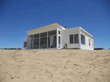 foto de casa en la playa