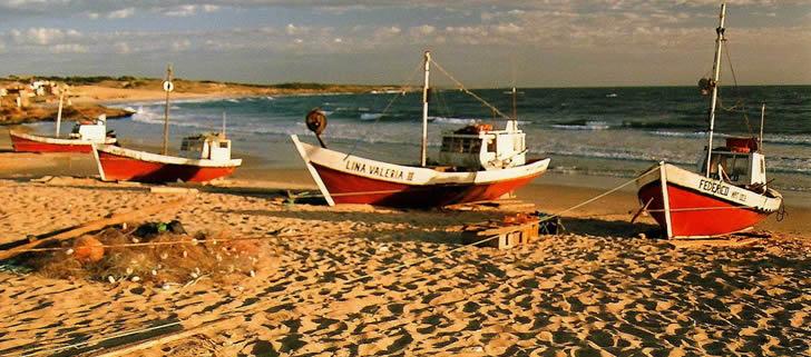 Atractivos de Punta del Diablo - Playa de los Botes